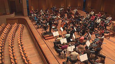Um ensaio com uma orquestra como não há outra