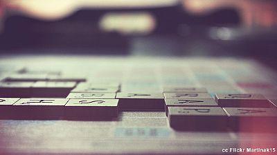 Champion du monde de Scrabble francophone... sans parler français