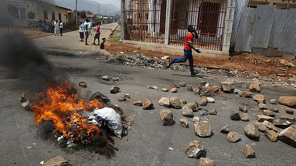 Burundi iç savaşa gebe