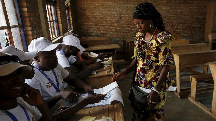 Burundi'de tartışmalı seçimler