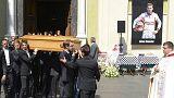 F1, a Nizza l'ultimo saluto a Jules Bianchi