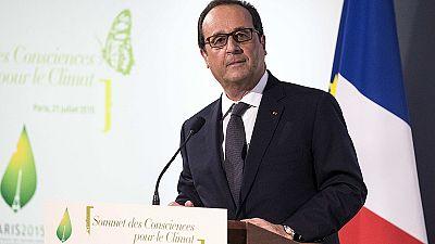 Clima debatido em Paris e no Vaticano