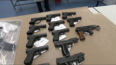 Dutch police arrest 8 after 'unprecedented' weapons haul