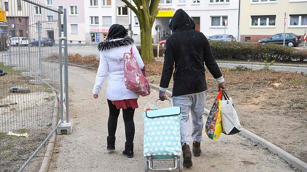 Image: German migrants