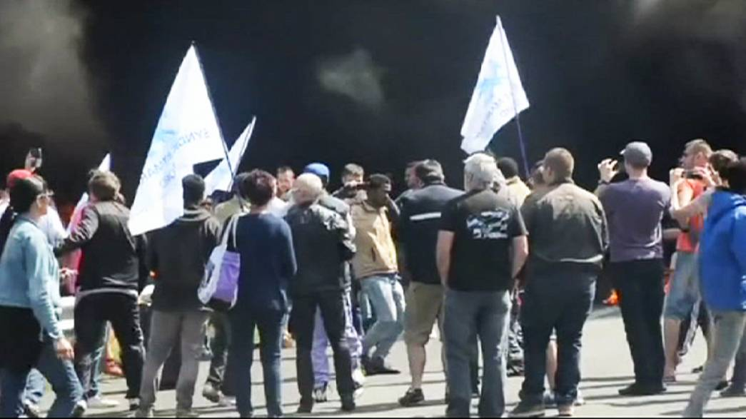 Ismét tiltakoztak a matrózok a Csatorna-alagútnál