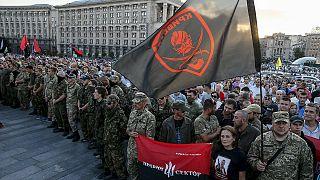 Kiew: Hunderte Nationalisten fordern Absetzung der Regierung