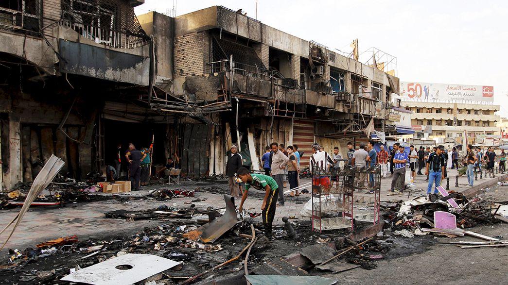 """مسلسل الهجمات الدامية لـ""""الدولة الاسلامية"""" في العراق"""