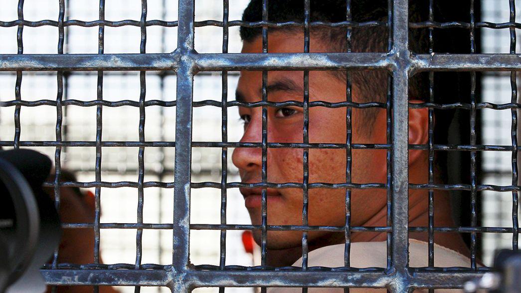Thaïlande : deux Birmans accusés du meurtres de deux randonneurs britanniques