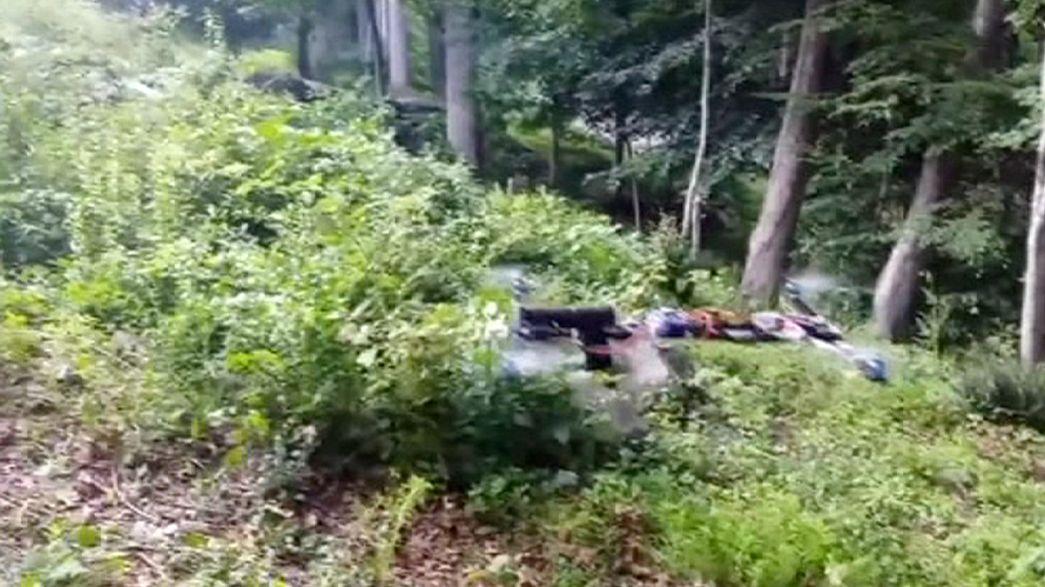 Stati Uniti: un controverso ''drone'' amatoriale spara in un bosco