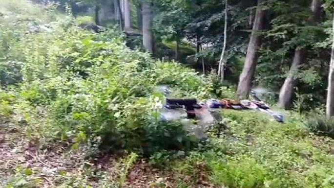 Ateş eden İHA görüntüsü ABD polisini harekete geçirdi