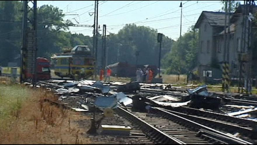 Two people die in Czech train smash