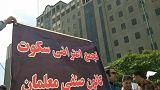 بازداشت برخی از حاضران در تجمع سکوت معلمان مقابل مجلس