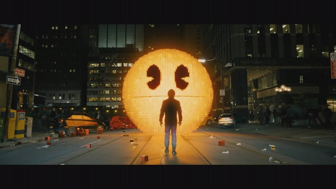 Video oyunu Pac-Man sinemalarda