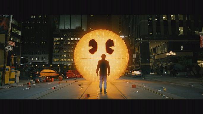 Video oyunu Pac-Man sinemalarda