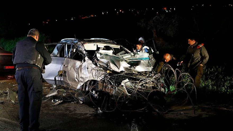 Image: West Bank car ramming