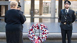 Ütoya katliamının dördüncü yıl dönümünde kurbanlar için anma töreni