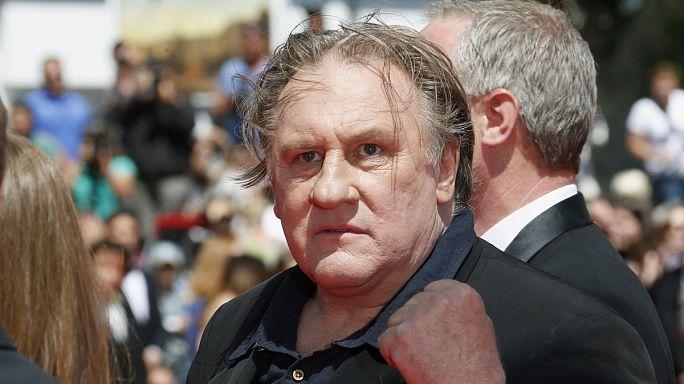 Aktör Depardieu, Ukrayna için ulusal tehdit oldu