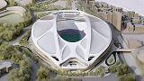 ملعب جديد لاحتضان الألعاب الأولمبية لعام 2020 في اليابان