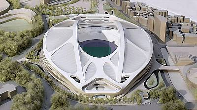 Olympics: New stadium plans to be drawn up for Tokyo 2020