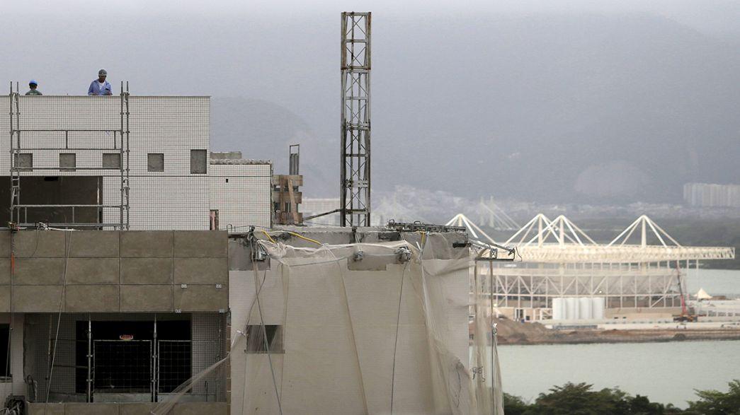 Aldeia olímpica do Rio de Janeiro quase pronta para os Jogos de 2016