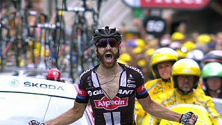 Tour de France: Geschke nyert, Contador bukott, van Garderen feladta
