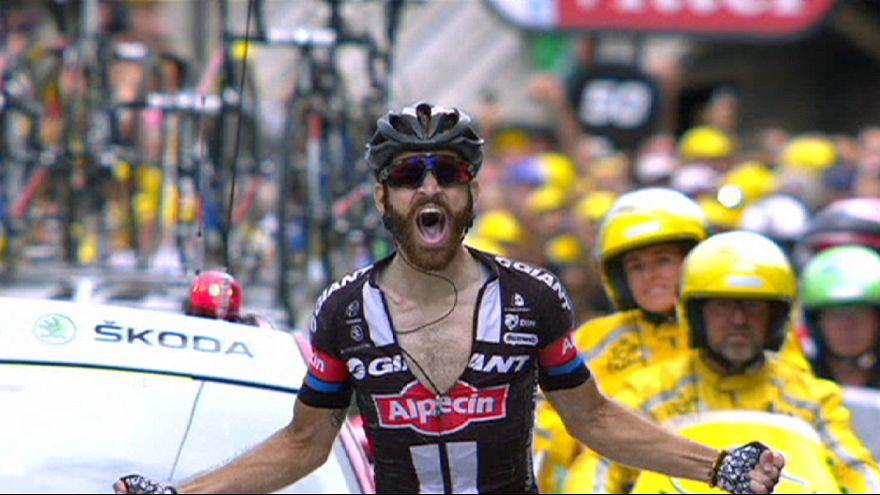 """Тур-де-Франс"", 17-й этап: сход Ван Гардерена, победа Гешке"