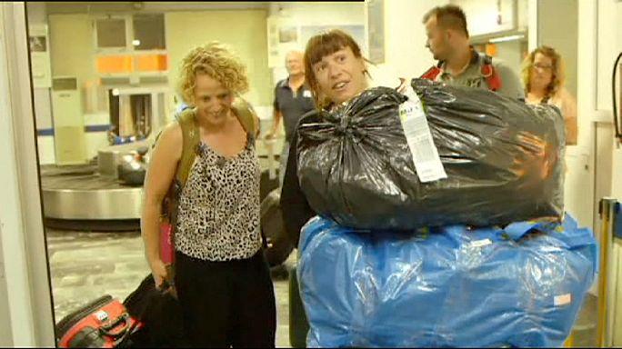 De l'aide humanitaire dans les valises des touristes scandinaves