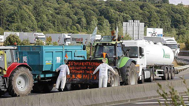 Франция: Лион в кольце фермерской блокады