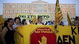 Molotow-Cocktails bei Protesten vor Athener Parlament