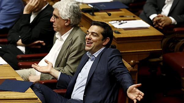 Greek lawmakers pass second reform package