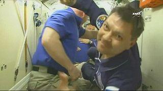 На МКС прибыл новый международный экипаж