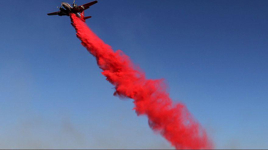 Крупный лесной пожар в Калифорнии