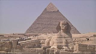 Robot tries to unlock Giza pyramid's secrets