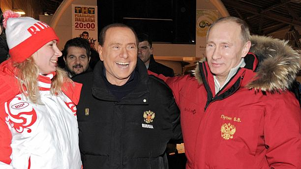 Berlusconi linked with a shock return to government – in Russia!