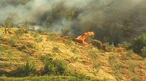 Incendi boschivi in Albania