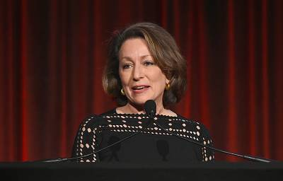 National Geographic magazine Editor-in-Chief Susan Goldberg during the Ellie Awards in New York on March 13.