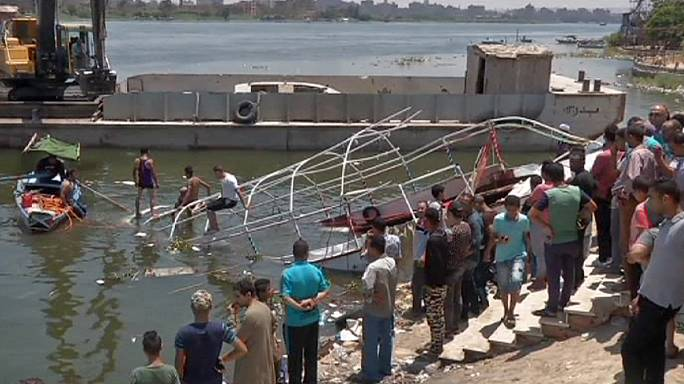 Ferry and cargo vessel in fatal collision on the River Nile