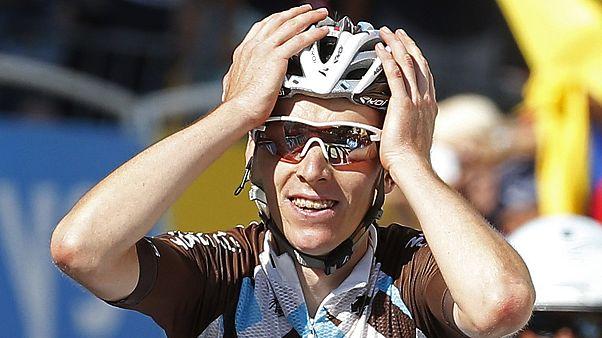 Tour de France: Δεύτερη γαλλική νίκη την ώρα που ο Φρουμ πλησιάζει στην κατάκτηση