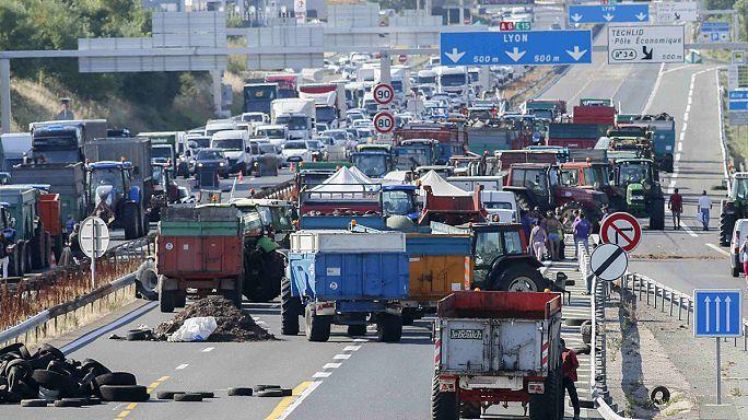 فرنسا: بعد عملية احتجاجية في مدينة ليون المزارعون يفتحون الطرق أمام حركة المرور
