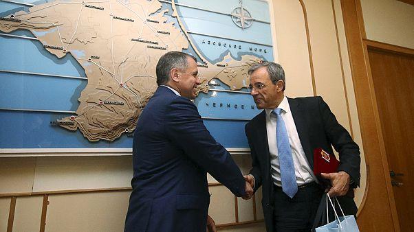 Visite très controversée en Crimée de parlementaires français