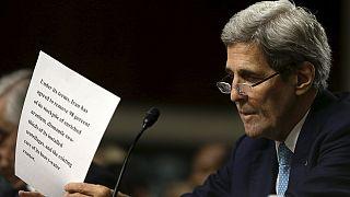 Senatsanhörung: Kerry wirbt um Zustimmung für Atomdeal