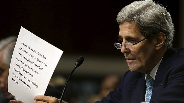 Alternative Iran deal 'a fantasy', Kerry tells Congress