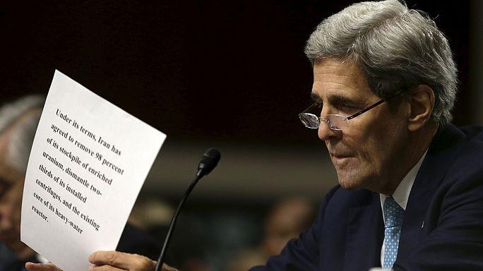 كيري يدافع مجددا عن الاتفاق النووي مع طهران