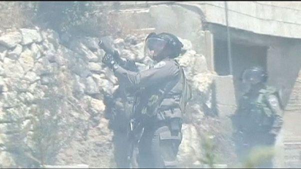 Οκτώ Παλαιστίνιοι τραυματίστηκαν από δακρυγόνα