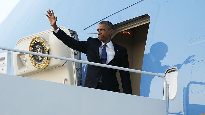 أوباما يعود الى أرض أجداده في كينيا وسط اجراءات أمنية مشددة