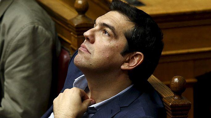 Grecia centra la actualidad europea de la semana