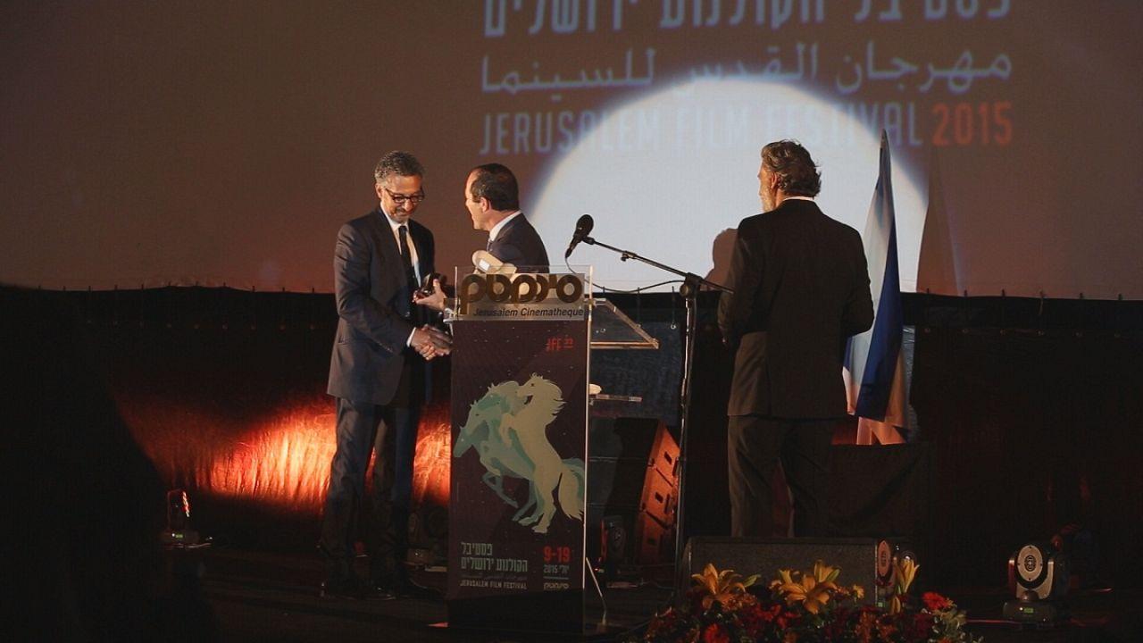 Ganadores de la 32 edición del Festival de Cine de Jerusalén