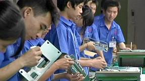 China's factory sector contracts by the most for 15 months