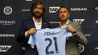باشگاه فوتبال نیویورک سیتی پیرلو را به خدمت گرفت