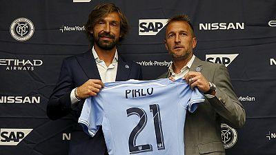 Pirlo pode estrear-se pelo New York City diante do mais bem pago da MLS